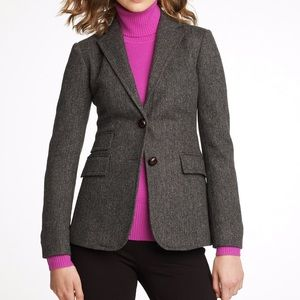 J. crew Hacking Wool Blazer - Size 4